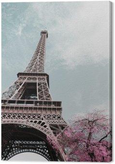 Leinwandbild Eiffelturm