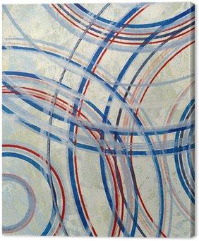 Leinwandbild Eine abstrakte Malerei