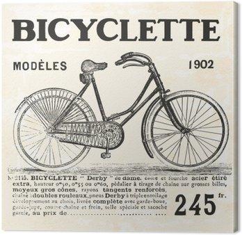 Leinwandbild Fahrrad für Mädchen