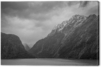 Leinwandbild Fiordland National Park Scenic in - Südinsel von Neuseeland