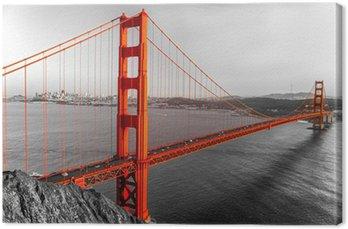 Leinwandbild Golden Gate, San Francisco, Kalifornien, USA.