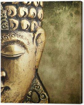 Leinwandbild Goldener buddha