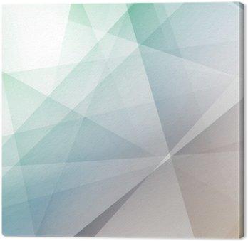 Leinwandbild Hipster modernen transparenten geometrischen Hintergrund
