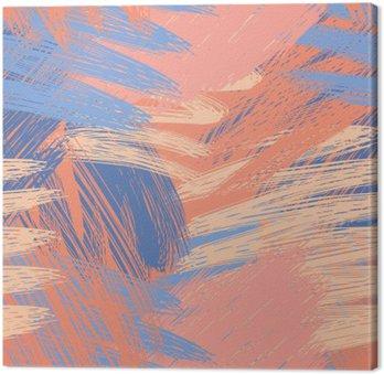 Leinwandbild Hoch entwickelte Muster Pastell Hintergrund