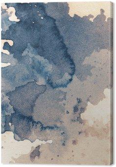 Leinwandbild Ink Textur
