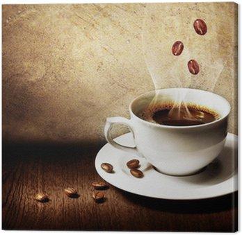 Leinwandbild Kaffee