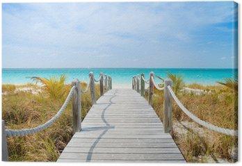 Leinwandbild Karibik strand