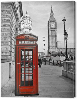 Leinwandbild London-Impression