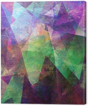 Leinwandbild Malerei graphik abstrakt
