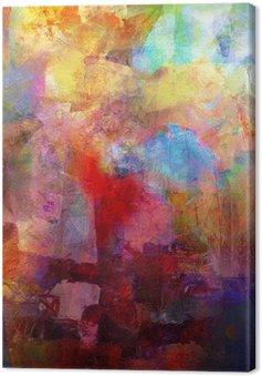 Leinwandbild Malerei texturen