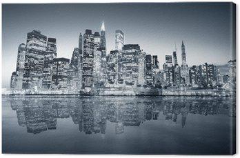 Leinwandbild New york manhattan