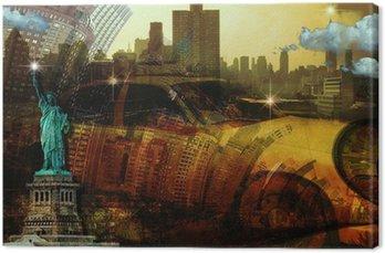 Leinwandbild New2 York City Zusammensetzung