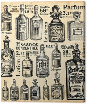 Leinwandbild Parfümherstellung