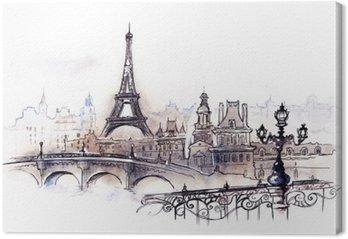 Leinwandbild Paris (Serie C)