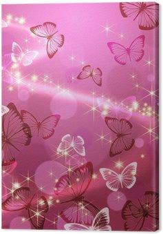 Leinwandbild Schmetterling 々