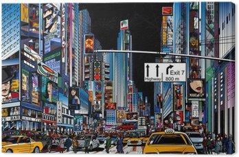 Leinwandbild Straße in New York City