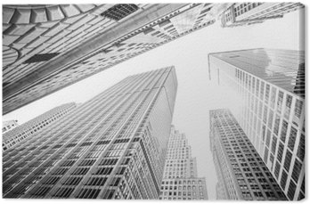 Leinwandbild Suchen Sie auf Wolkenkratzer in Manhattan, New York City, USA