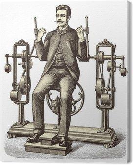 Leinwandbild Victorian Training (1)