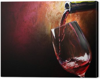 Leinwandbild Wine