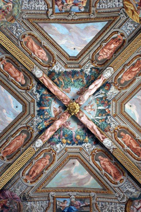 Obraz na Płótnie Malarstwo Kościół we Włoszech - Europa