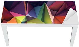 Mat- och Skrivbordsdekor Abstrakt geometrisk bakgrund
