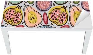Mat- och Skrivbordsdekor Frukt sömlösa mönster
