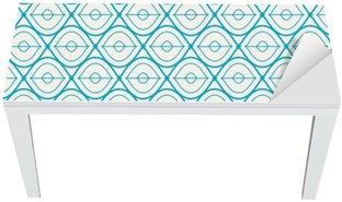 Mat- och Skrivbordsdekor Seamless geometriskt mönster