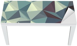 Mat- och Skrivbordsdekor Triangel abstrakt geometriska mönster