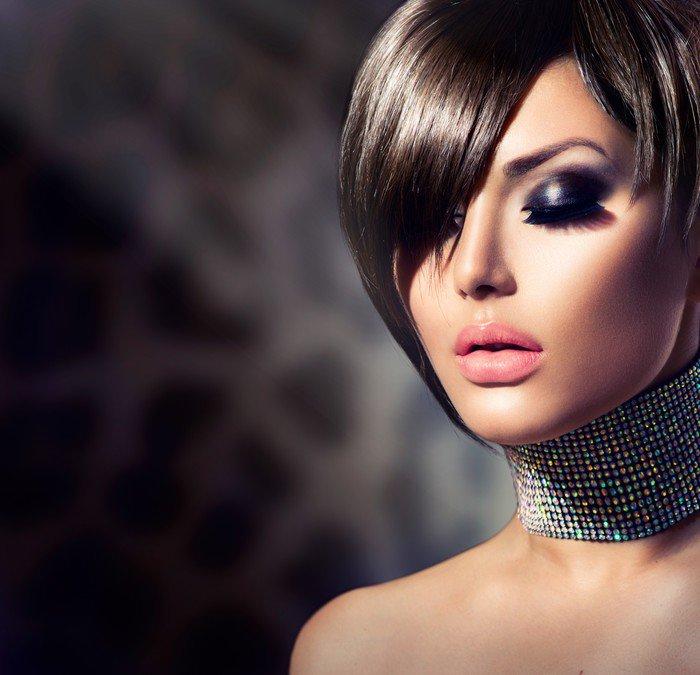 Fototapeta Vinylowa Moda piękna dziewczyna. wspaniały portret kobiety - Kobiety