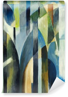 Mural de Parede em Vinil an abstract painting