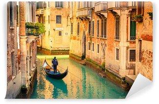 Mural de Parede em Vinil Canal in Venice