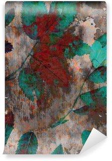 Mural de Parede em Vinil Grandes fundos brilhantes. As tintas de mistura e natureza