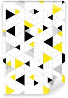 Mural de Parede Lavável Fundo padrão geométrico