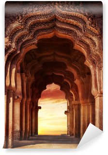Mural de Parede em Vinil Old temple in India