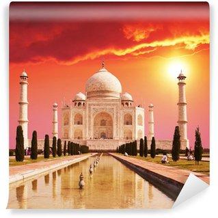 Mural de Parede em Vinil Taj Mahal palace in India