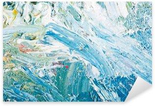 Naklejka Pixerstick Abstrakcyjna grafika malarstwo