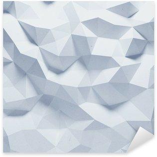 Naklejka Abstrakcyjne geometryczne tło papieru szlifowane