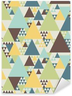 Naklejka Abstrakcyjny wzór geometryczny # 2
