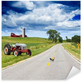Naklejka Amerykańska Country Road