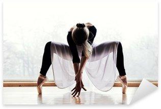 Naklejka Pixerstick Baletnica
