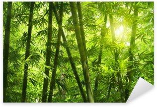 Naklejka Pixerstick Bambusowy las