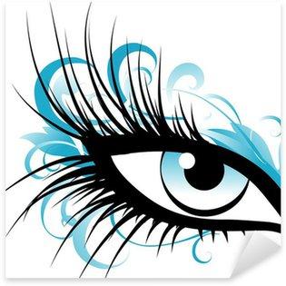 Naklejka Pixerstick Blue eye