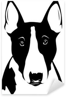 Naklejka Bull Terrier - Portret