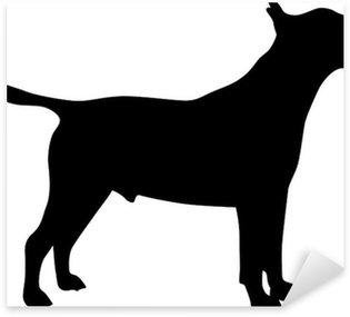 Naklejka Bull Terrier - Silhouette
