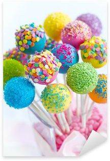 Naklejka Pixerstick Cake pops