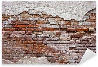 Naklejka Pixerstick Ceglana ściana