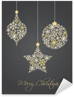 Naklejka Pixerstick Christmas ball