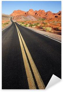 Naklejka Droga przez Dolinę Fire State Park