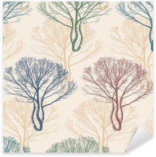 Naklejka Drzew