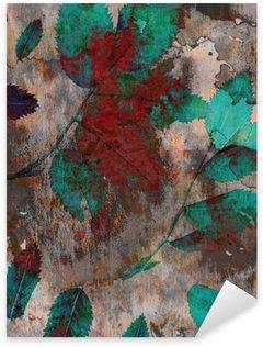 Naklejka Pixerstick Duże jasne tła. Do mieszania farb i natura
